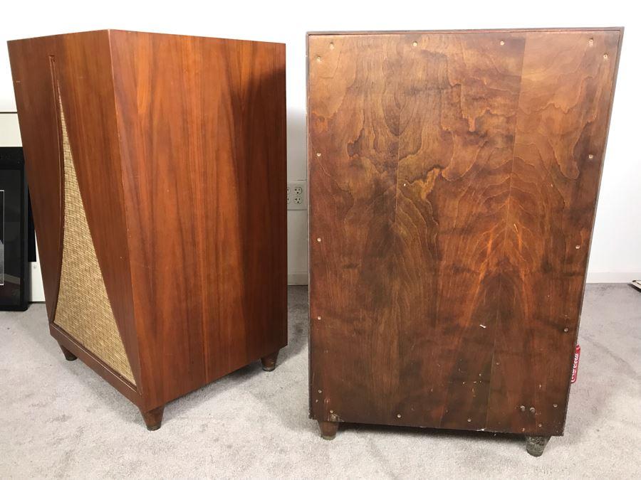 John Karlson Mid-Century Hi-Fi Cabinets Speakers Custom ...