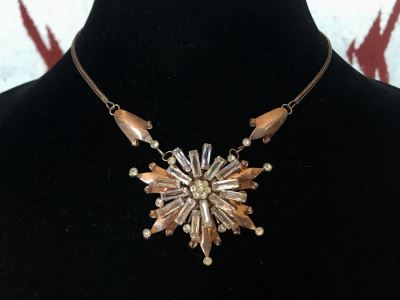 Vintage Sterling Silver Pendant Necklace 21.1g