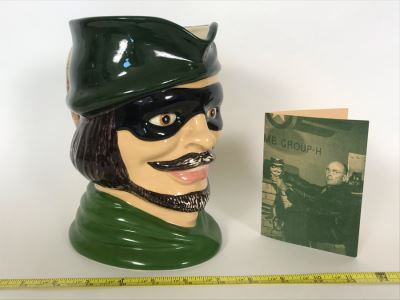 Reproduction Movie Prop Air Corps Classics Toby Mug From 1949 Movie Twelve O'Clock High! Twentieth Century Fox 8H