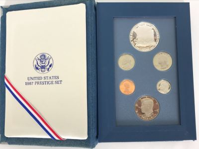 United States 1987 Prestige Mint Coin Set