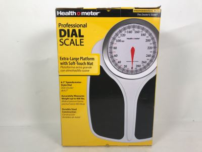 New Healthometer Professional Dial Doctor's Scale
