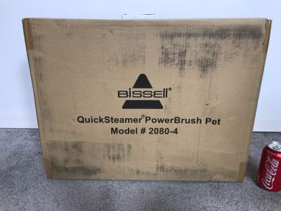New Bissell QuickSteamer PowerBrush Deep Cleaner Pet Model # 2080-4