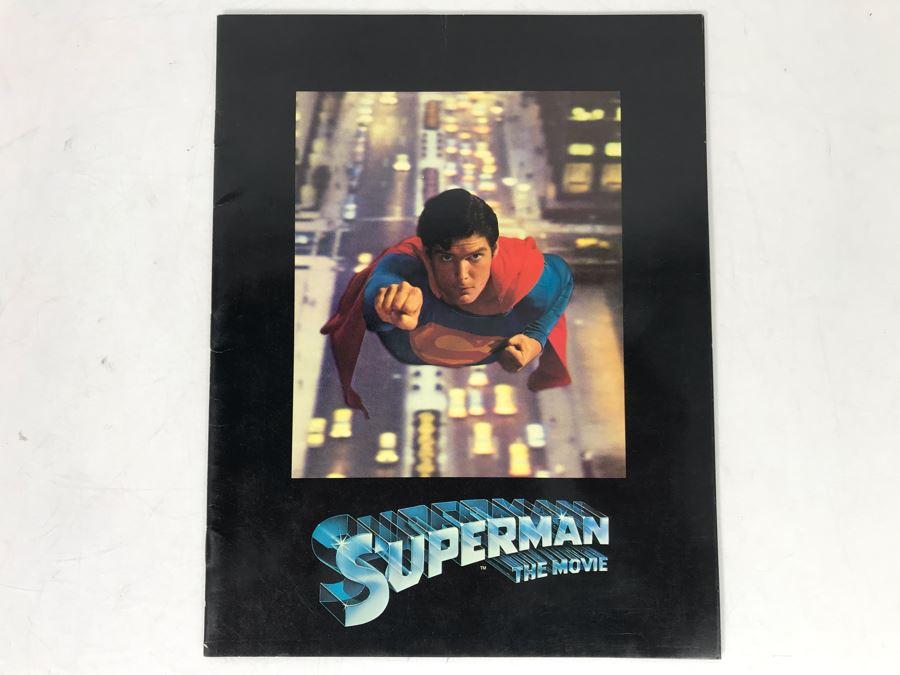 Superman The Movie Original Program [Photo 1]