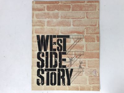 West Side Story Musical Program Featuring Patrick Swayze