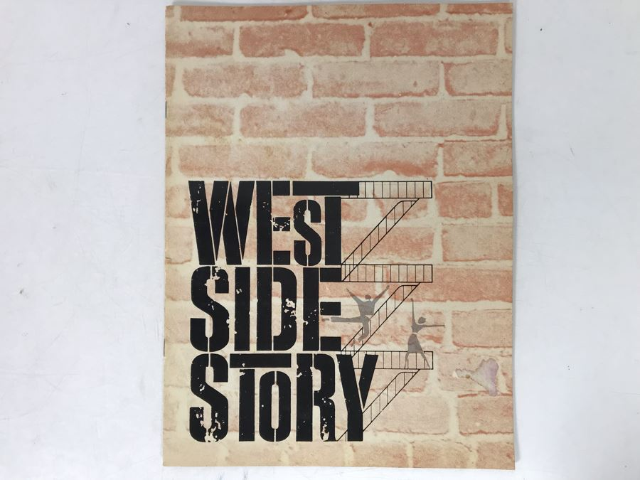 West Side Story Musical Program Featuring Patrick Swayze [Photo 1]