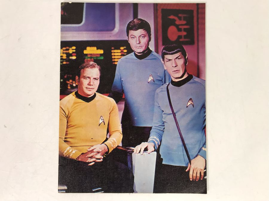 Vintage 1975 International Star Trek Convention Program [Photo 1]