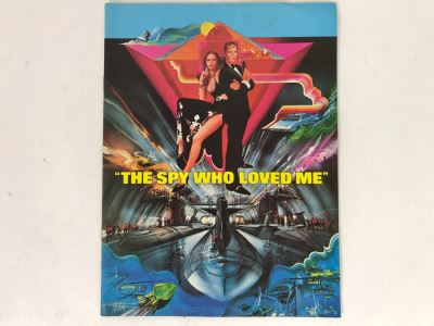 Original James Bond The Spy Who Loved Me Movie Program