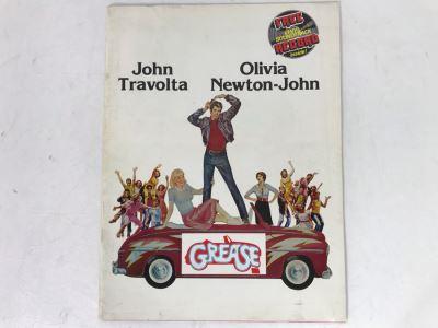 Original Grease Movie Program