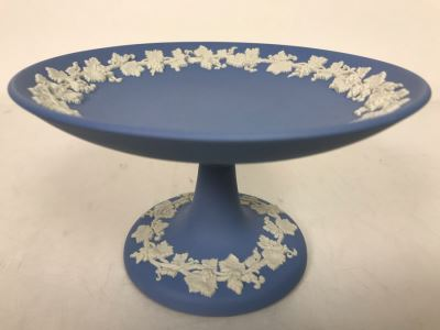 Vintage Wedgwood Footed Dish Compote Made In England 6W X 3.5H