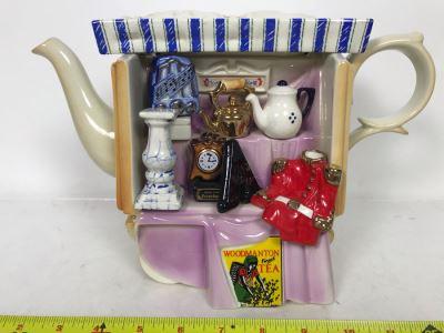 Vintage Paul Cardew Woodmanton Finest Tea Teapot 11W X 6D X 7.5H
