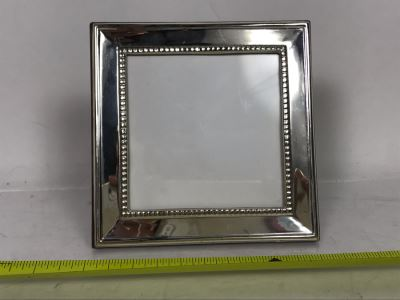 Sterling Silver Picture Frame 5 X 5