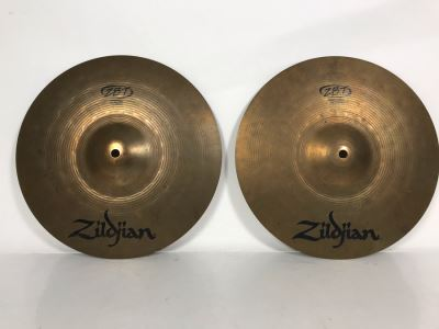 Zildjian ZBT HiHat Top And Bottom Cymbals 13'