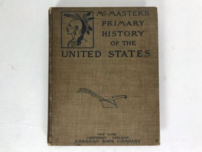 Antique 1901 Textbook McMaster's Primary History Of The United States American Book Company
