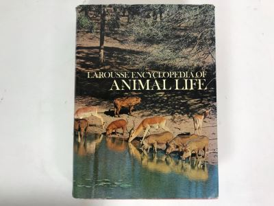Larousse Encyclopeia Of Animal Life Book Fourth Impression 1971