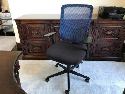Kroy Blue Office Chair (Retails $110)
