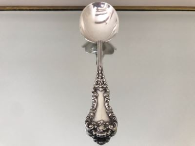 Large Sterling Silver Serving Spoon 80.3g