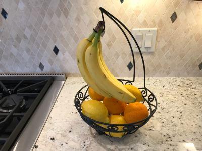 Metal Fruit Basket (Fruit Not Included) 16H