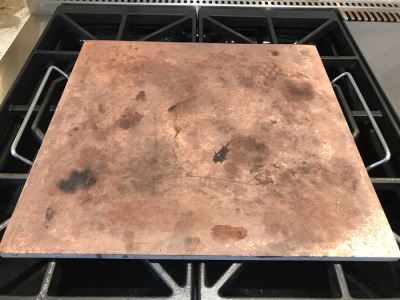 Pizza Stone With Rack 14.5 X 15