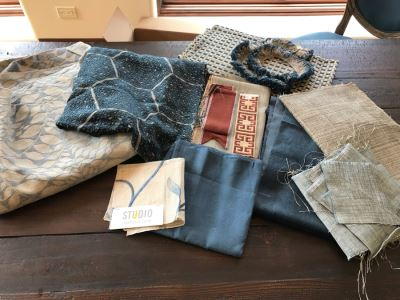 Various High End Fabrics Remnants