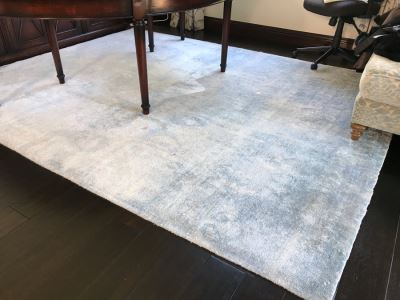 Wool Area Rug Bamboo SK IKAT 8'0' X 10'3' (Retails $3,000)