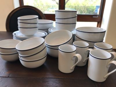 Collection Of DANSK Bistro Dinnerware
