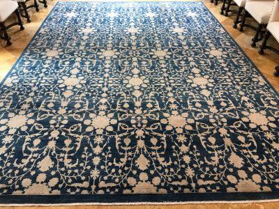 Stunning Large Persian Area Rug Bamyan Tabriz 9'10' X 13'10' Retails $8,700