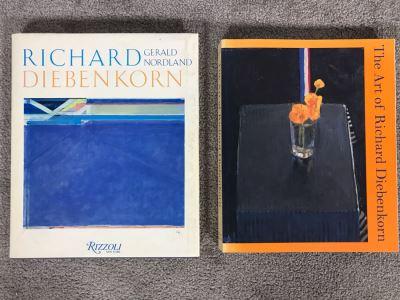Pair Of Richard Diebenkorn Artwork Books