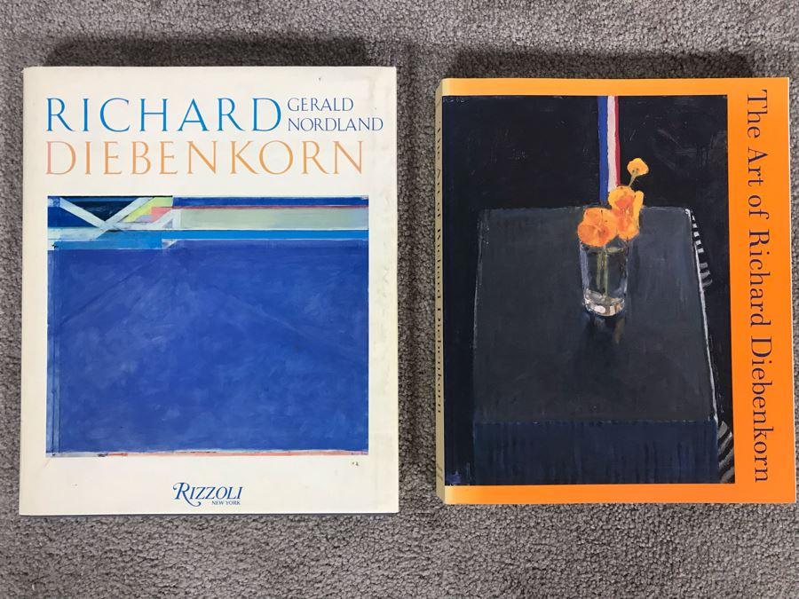 Pair Of Richard Diebenkorn Artwork Books [Photo 1]