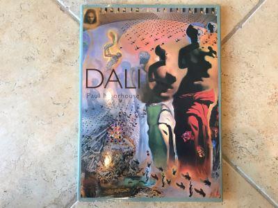 Dali By Paul Moorhouse Coffee Table Artist Book