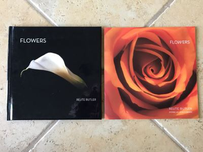 SIGNED Pair Of Photography Books: Flowers By Reute Butler