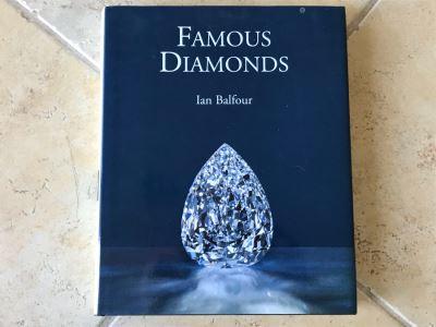 Famous Diamonds By Ian Balfour Coffee Table Book