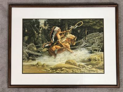 Frank C. McCarthy Signed Limited Edition Lithograph 23 X 16