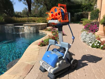 Dolphin Supreme M5 Robotic Pool Cleaner By Maytronics Retails $1,000+