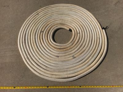 Long Braided Nautical Rope 88' Long X 1' Thick