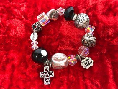 JUST ADDED - Sterling Silver Charm Bracelet 58.7g (MOE)