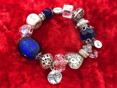 JUST ADDED - Sterling Silver Charm Bracelet 61.2g (MOE)