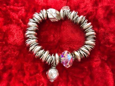 JUST ADDED - Sterling Silver Charm Bracelet 71.1g (MOE)