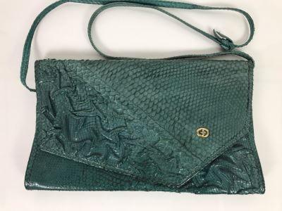 JUST ADDED - Vintage Carlo Fiori Italy Leather Handbag 12 X 8