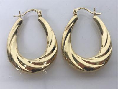 LAST MINUTE ADD - 14K Gold Earrings 3.2g