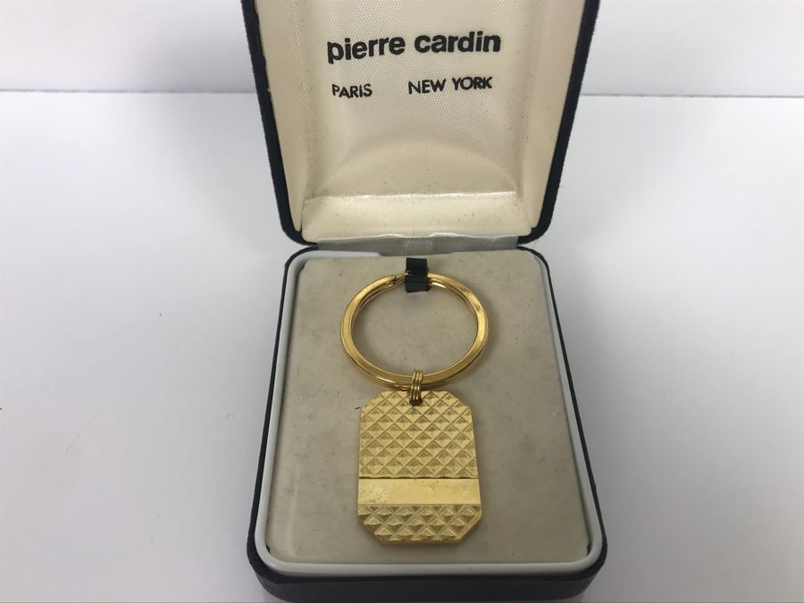 LAST MINUTE ADD - Vintage Pierre Cardin Gold Tone Keychain [Photo 1]