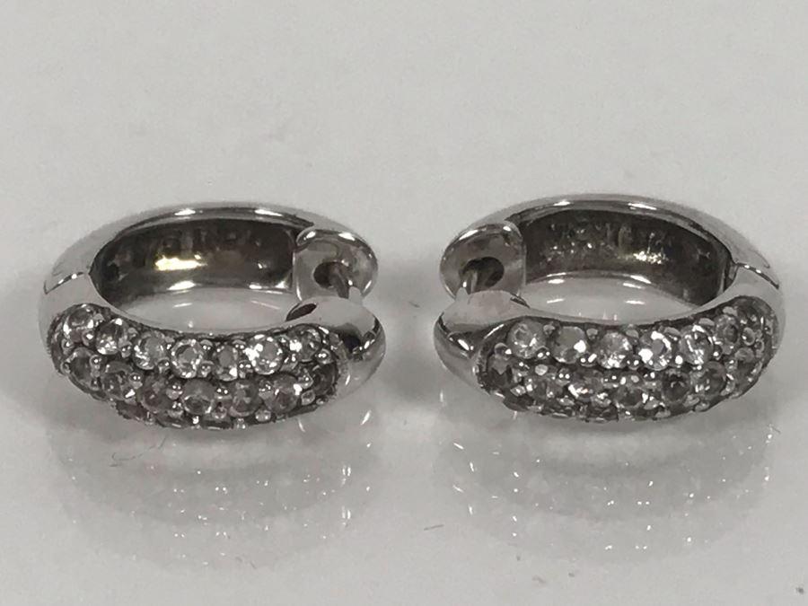 LAST MINUTE ADD - Sterling Silver Earrings 3.4g [Photo 1]