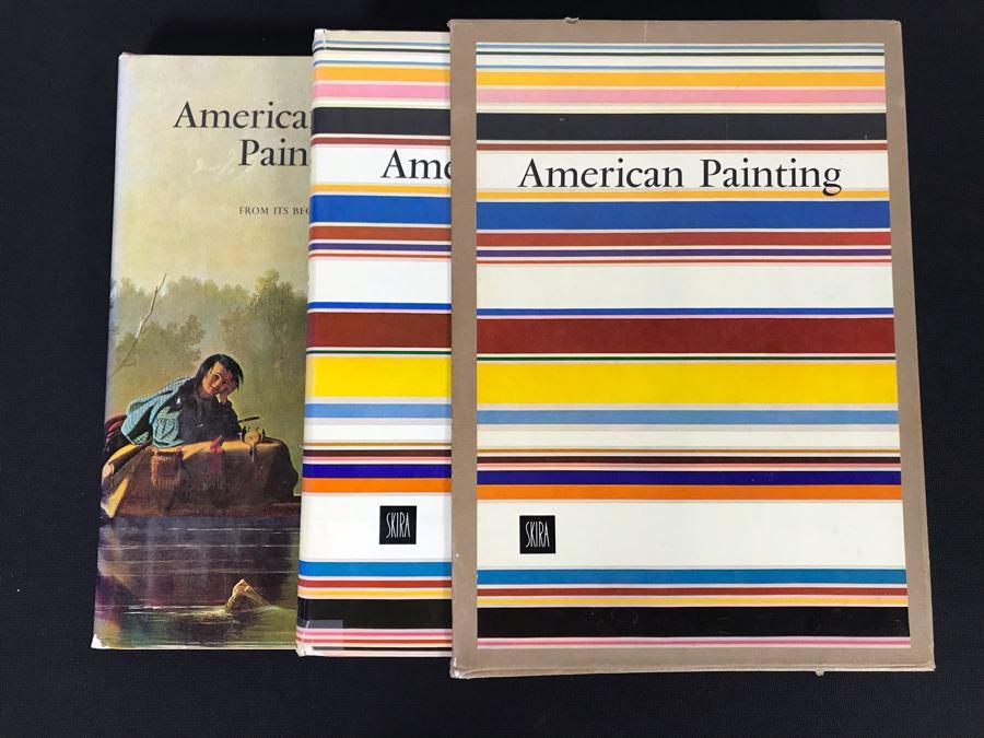 American Painting 2 Volumes Coffee Table Books Box Set 70-80455 Skira (JKE)