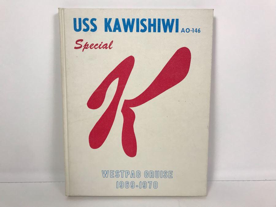 USS Kawishiwi AO-146 Cruise Book Special K Westpac Cruise Vietnam 1969-1970