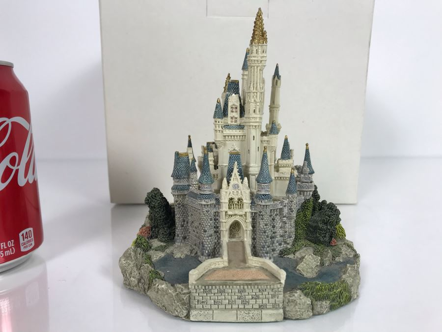 The Disney Collection Cinderella Castle Walt Disney World Resort By Fraser Creations With Box [Photo 1]