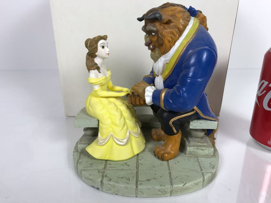 Disney's Animated Classics Beauty And The Beast Sculpture Figurine With Box [Photo 1]