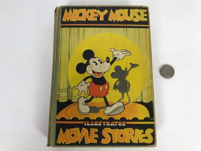 Vintage 1931 Book Mickey Mouse Movie Stories Story And Illustrations By Staff Of Walt Disney Studio David McKay Company