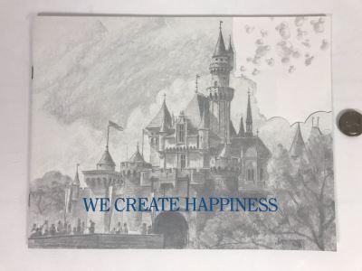 Disneyland Ephemera New Employee Courtesy Standards Welcome Book