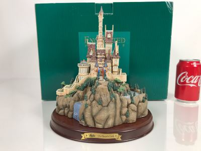 The Beast's Castle From Disney's 'Beauty And The Beast' Enchanted Places From Walt Disney Classics Collection With Box (Residual Museum Wax On Bottom)