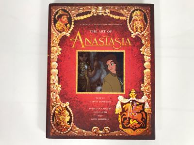 The Art Of Anastasia First Edition Walt Disney Coffee Table Book Retails $50