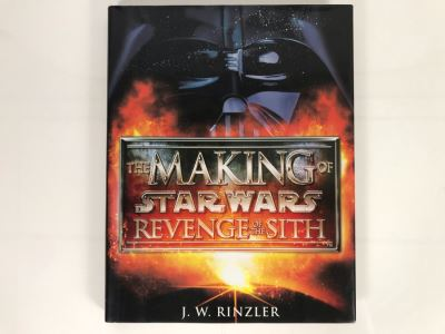 The Making Of Star Wars Revenge Of The Sith First Edition Book
